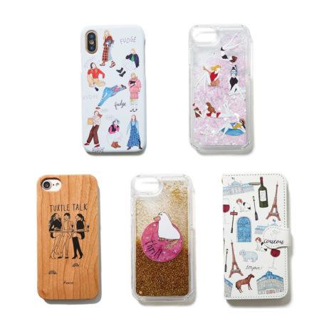 foxco × FUDGE iPhone case
