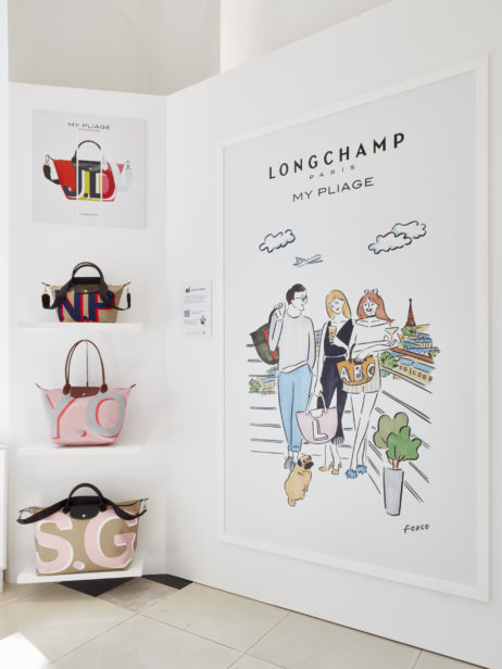 Longchamp Omotesando Popup Store